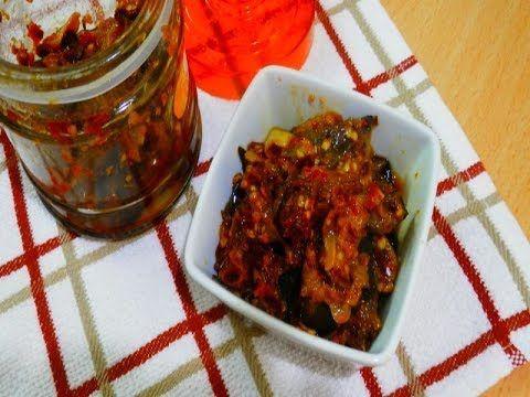 مخلل الباذنجان بتوابل هندية إيدام الباذنجان المخلل Eggplant Pickled Youtube Food Easy Meals Cooking