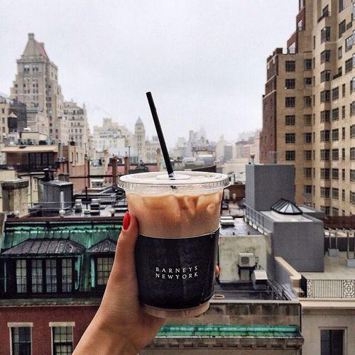 Iced Coffee In The City Food Coffee Addict Coffee Drinks