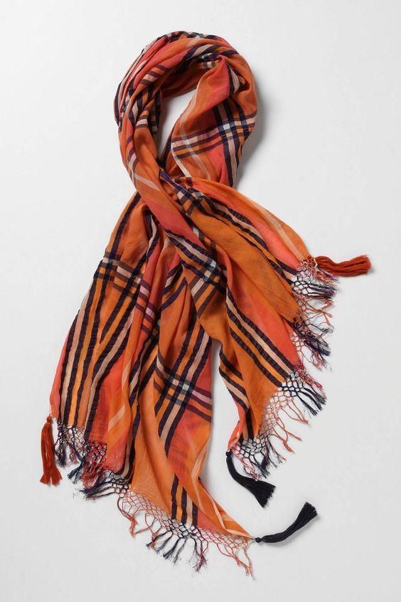 Fun fall scarves!