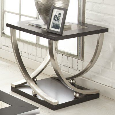 Abdurrahim End Table Metal Furniture Design Tables - How To Remove Metal From Glass Table