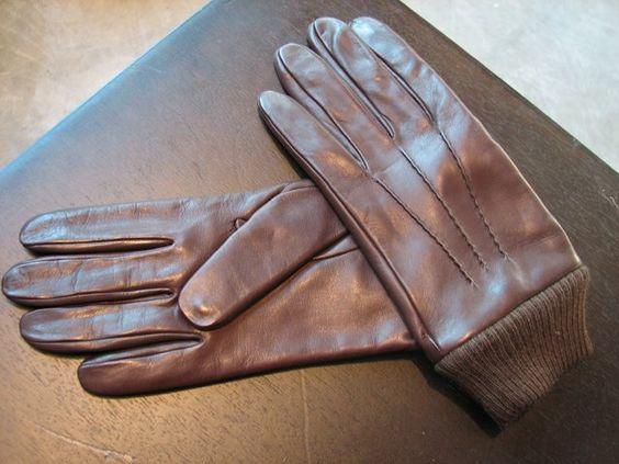 APC Leather Gloves