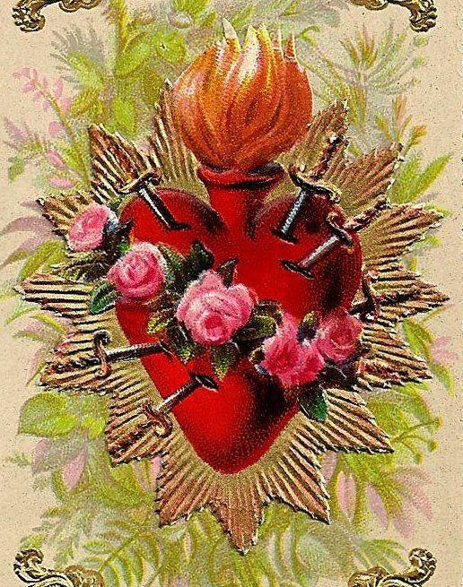 Sacred Heart of Mary   Saints /Gods/Goddes   Pinterest ...