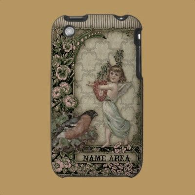 Victorian Collage IPhone case