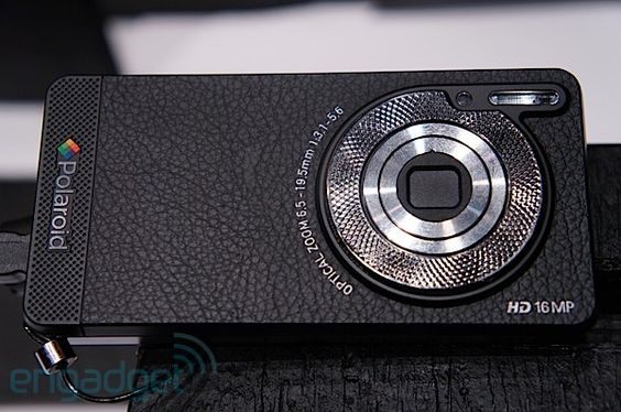 """Polaroid SC1630 Android HD smart camera hands-on, is it a cameraphone or a phonecamera?"""