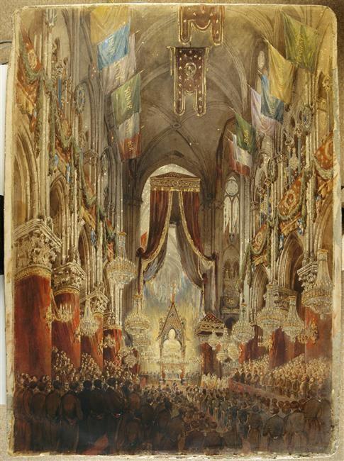 Te Deum du 1er janvier 1852 à Notre-Dame, Hubert Clerget