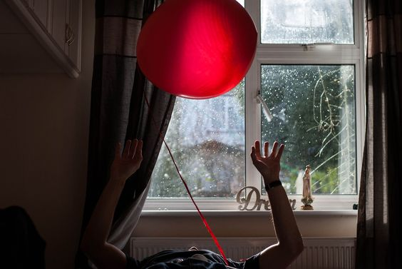 memories of a valentine's day.  #love #balloon #red #valentine #inspiration #dream