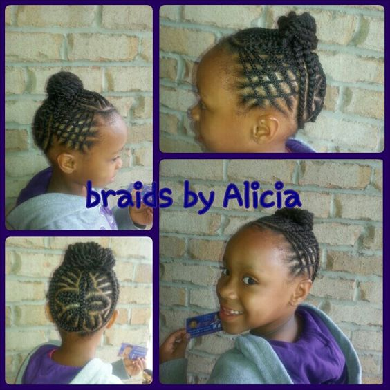 Terrific Kid Braids Two Strand Twists And Kid Styles On Pinterest Short Hairstyles For Black Women Fulllsitofus