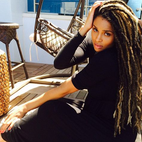 Ciara Rocks Faux Locs and Looks Freaking Lovely!