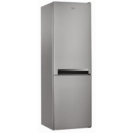 Whirlpool Blf8001ox Refrigerateur Congelateur Bas 339l 228 111 Froid Statique A L60cm X H189cm Inox Achat Vente Refrigerat Refrigerateur Congelateur Inox Et Degivrage