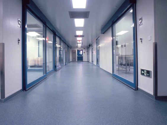 Stonhard Flooring : Stonhard seamless floors in a pharmaceutical ...