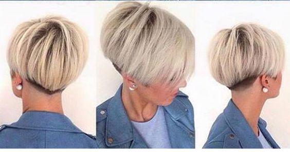 Möchtest Du diesen Sommer einen kurzen BOB tragen? Dann sind diese 10 tollen Beispiele von kurzen BOB-Frisuren vielleicht etwas für Dich! Lass den Nacken für einen noch kürzeren Schnitt ausrasieren. Sieht toll aus, oder?