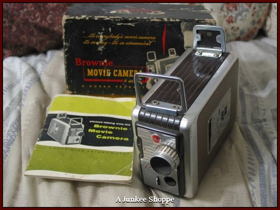 KODAK 1955 Brownie 8mm Model 82 Movie Camera In Original Box With Pamplet  IMG 3693 http://ajunkeeshoppe.blogspot.com/