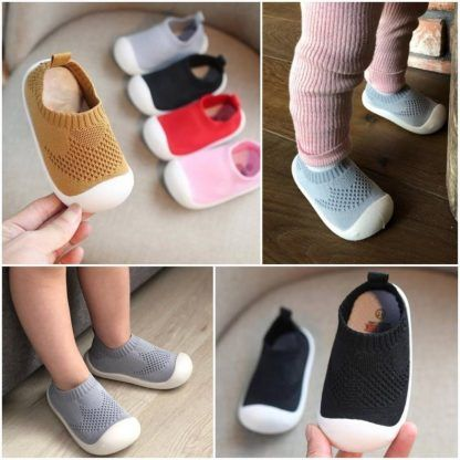 Breathable first walker shoes for baby