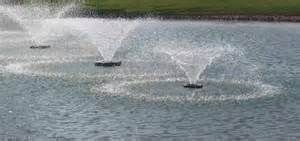 fountains and aeration in ponds - http://www.floridapondmanagement.com/algae-in-ponds/