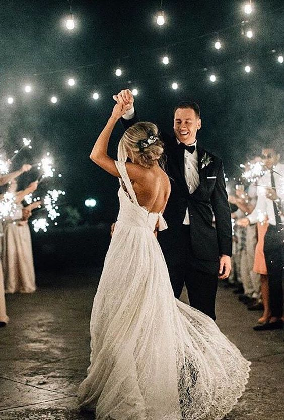 39 Breathtaking First Dance Wedding Shots ❤ first dance wedding shots dance ander lamps and sparklers bethanysmallphoto #weddingforward #wedding #bride