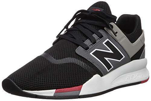 New Balance Men's 247v2 Sneaker, Black, 8 D US ...