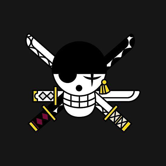 Zoro Pirate Flag Gambar