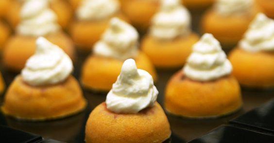 peti gâteau de abóbora com calabresa