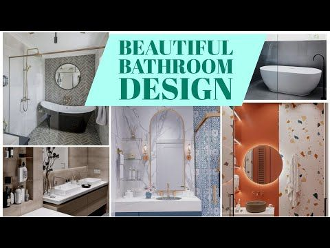 Beautiful Bathroom Design Contrasting And Stylist Ideas Youtube In 2020 Beautiful Bathroom Designs Beautiful Bathrooms Latest Bathroom Designs