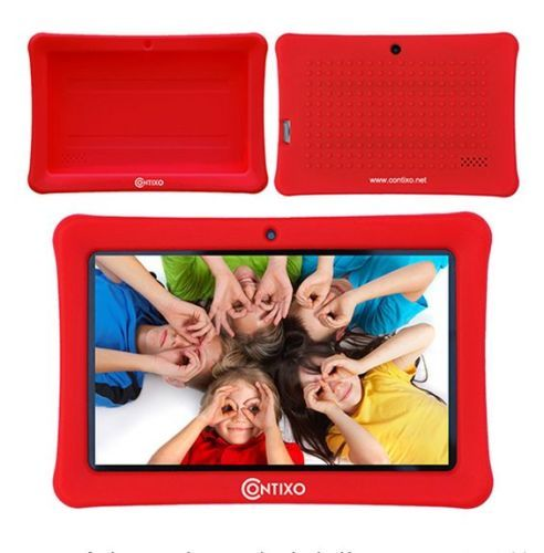 Contixo-7-Inch-Android-Tablet-Polyester-Cover-Case-for-LA703-7-Tablet-Red