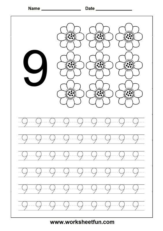 Number Names Worksheets free printable traceable numbers : Pinterest • The world's catalog of ideas