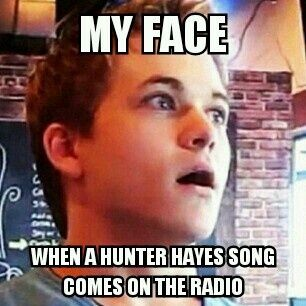 hunter hayes memes | pinned by bella raven pretty much