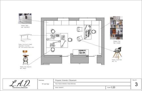 Plano Distribución Interiores