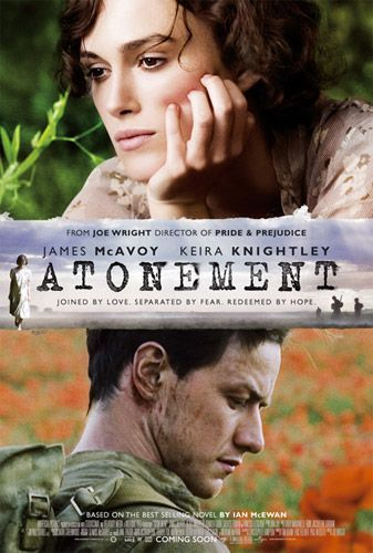 Atonement (2007) - I only liked the first half, when the little girl wasn't grown up yet.: