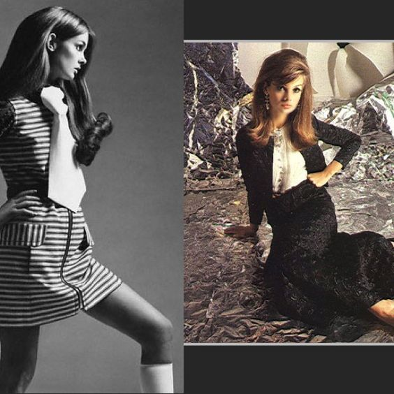 If you want the Perfect Pin be sure to add Jean Shrimpton in