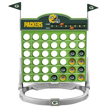 packers + connect four = perfection