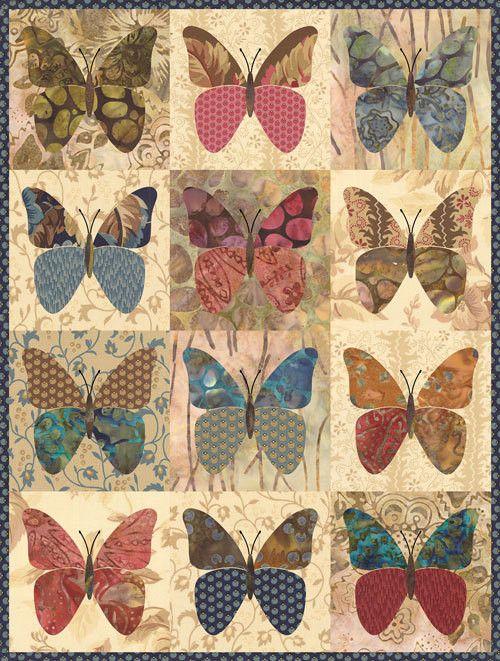 Little Butterflies Fabric Kit