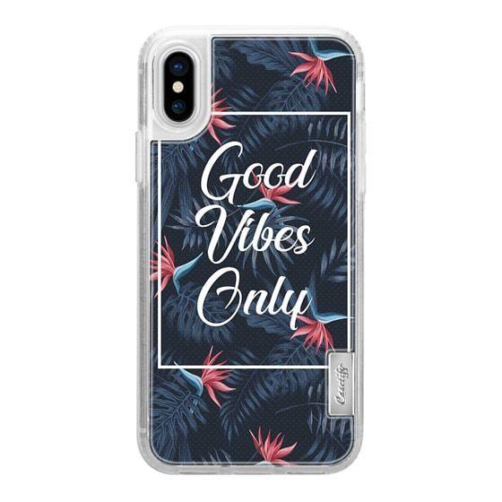 Iphone Xs Max Case Impact Nur Positive Vibes Priyanka Designs Design