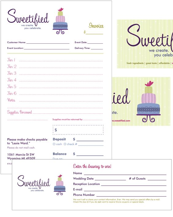 Download Invoice Template Bakery  RabitahNet