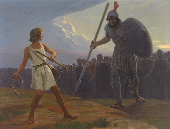 "David and Goliath. A common enough story we've all heard before. A thrilling action adventure tale with a plot everyone loves. I mean, who doesn't enjoy a good underdog hero triumphing against the odds? I would have liked to see the odds in Vegas when the fight was announced. ""Goliath, giant of a man vs. David, shepherd boy."" Most of us would have thought the fight over before it even began, the end result being David knocked out in round one, death by superior weaponry skills, crushed by…"