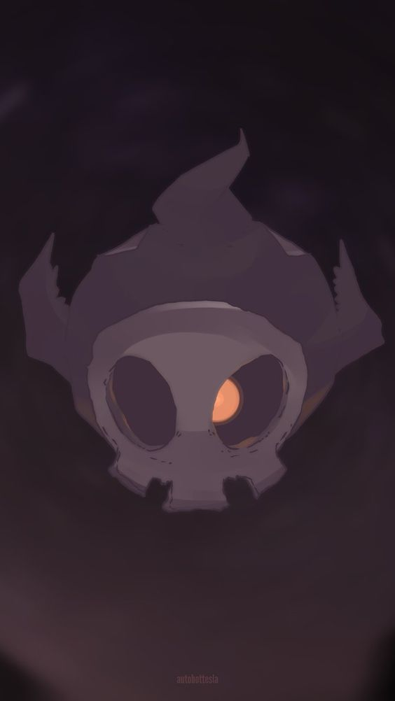 Day 680 - Yomawaru | ヨマワル | Duskull Yomawaru inhabits its shell after hatching. Its one eye watches from the Ghost Pokémon realm. It can grow its shadowy body in th...