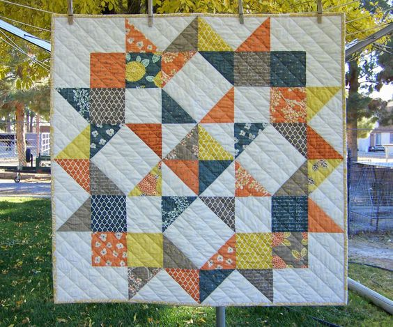 Modern quilts pinterest table toppers autumn and charm pack