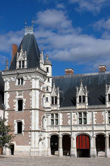 Château de Blois (Loir-et-Cher) #loirevalley