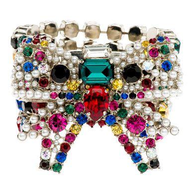 Miu Miu swaroski bracelet