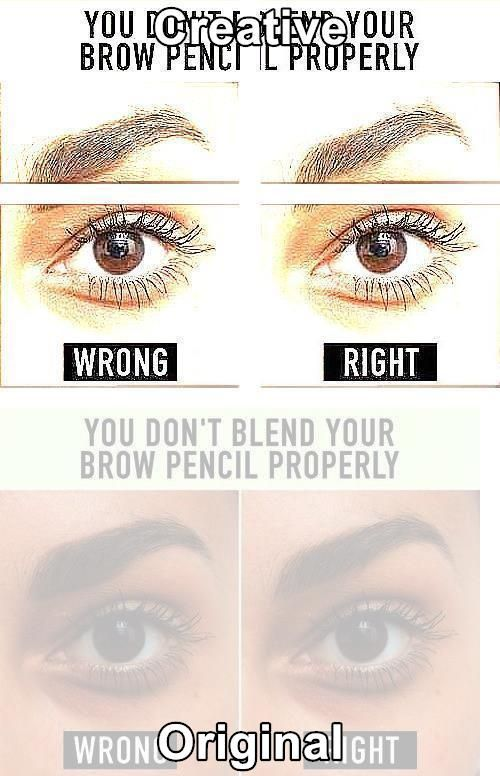 How To Get Eyebrow Hairs To Grow In Right Direction