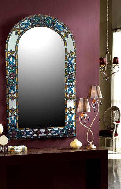 Espejos artesanales con vitral gallery dise o y decoraci n con espejos - Espejos con diseno ...