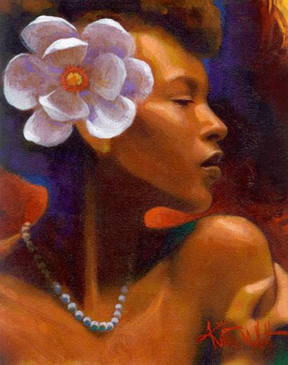 ✯ String of Pearls ::::: Artist Keith Mallett ✯: