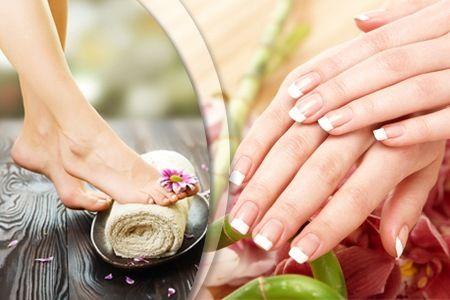 Geschmeidige Haut und stylisch aussehende Nägel für Hände und Füße  Die Beauty-Profis lassen Finger- und Fußnägel in sommerlichem Glanze strahlen  Ein warmes Handbad macht die Haut schön frisch und weich  Bei der inbegriffenen Fußreflexzonenmassage kann man wunderbar relaxen und Energie tanken