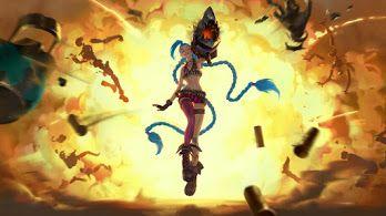 Legends Of Runeterra Wallpapers Hd Jinx League Of Legends Art League Of Legends
