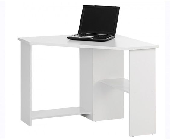 Small Corner Study Desk Kids Space Saver Furniture White Computer Laptop Work  http://www.ebay.co.uk/itm/Small-Corner-Study-Desk-Kids-Space-Saver-Furniture-White-Computer-Laptop-Work-/142076618535?hash=item21146d2727:g:b2QAAOSwt7ZXpNNU