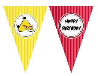 Angry Birds Party http://estimulandomeusfilhos.blogspot.com.br/2013/08/festa-de-aniversario-como-antigamente.html