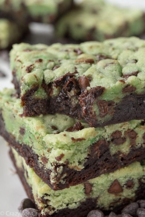 MINT CHIP BROOKIES Really nice recipes. Every hour. Show me what  Mein Blog: Alles rund um die Themen Genuss & Geschmack  Kochen Backen Braten Vorspeisen Hauptgerichte und Desserts # Hashtag