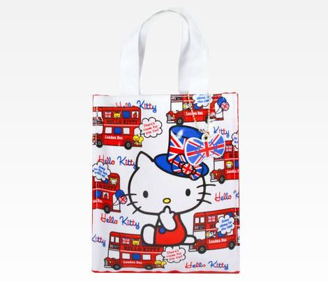 Hello Kitty Mini Tote Bag: London