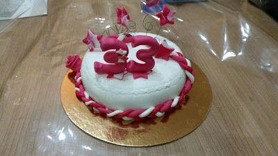Sims Cake Shop: Bolo aniversário 33 anos