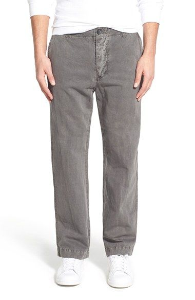 James Perse 'Utility' Cotton & Linen Pants