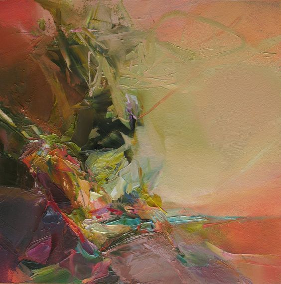 One of the most beautiful paintings i have ever seen for Most beautiful abstract art